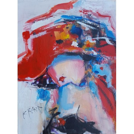 Koraljka Beker - Žena sa šeširom 01