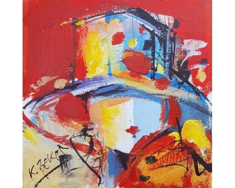 Koraljka Beker - Žena sa šeširom 05
