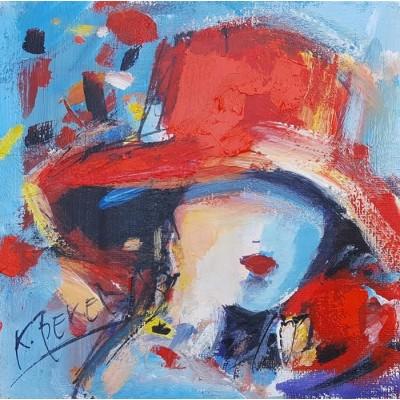 Koraljka Beker - Žena sa šeširom 06