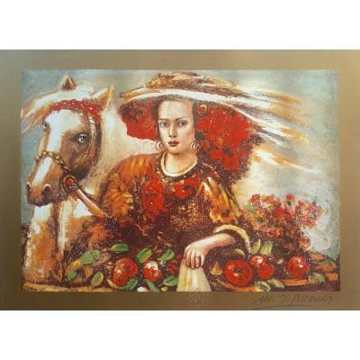 bosner 26  - Crvenokosa djevojka