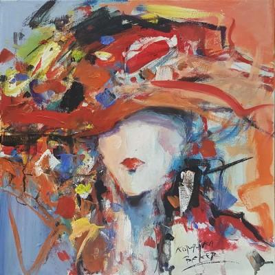Koraljka - žena sa crvenim šeširom 03