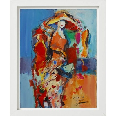 Koraljka - žena sa žutim šeširom 02