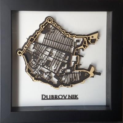 kovaivan - Dubrovnik 3d plan grada
