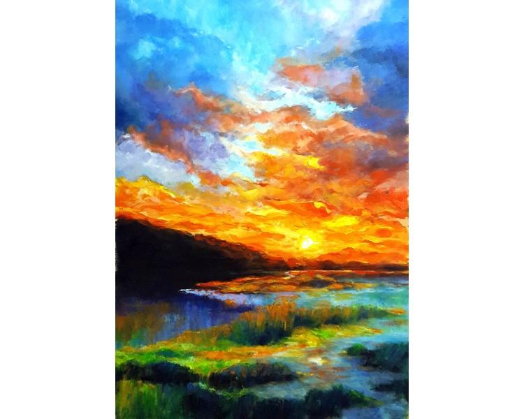 kovaivan - narančasto nebo