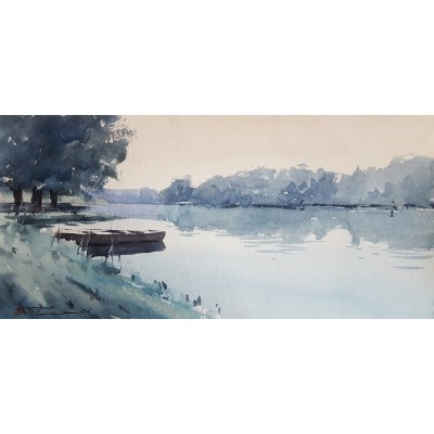 Pribanić - čamac na rijeci 16