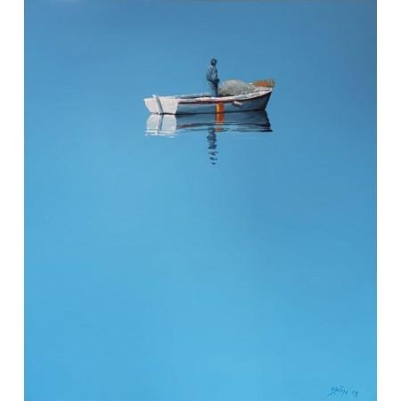 Stošić 09 - ribar u čamcu
