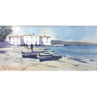 Pribanić - čamci na obali 10
