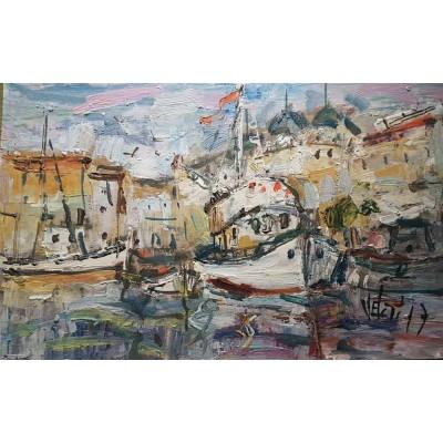 Velčić - brodovi u luci 03