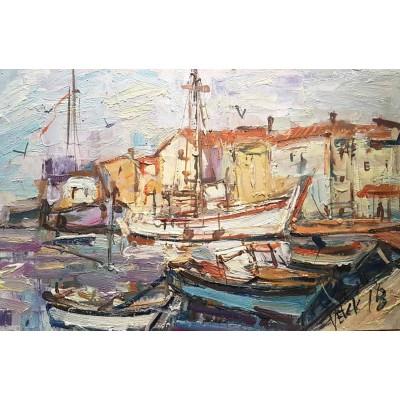 Velčić - brodovi u luci 05