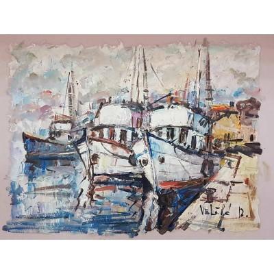 Velčić - brodovi u luci 02